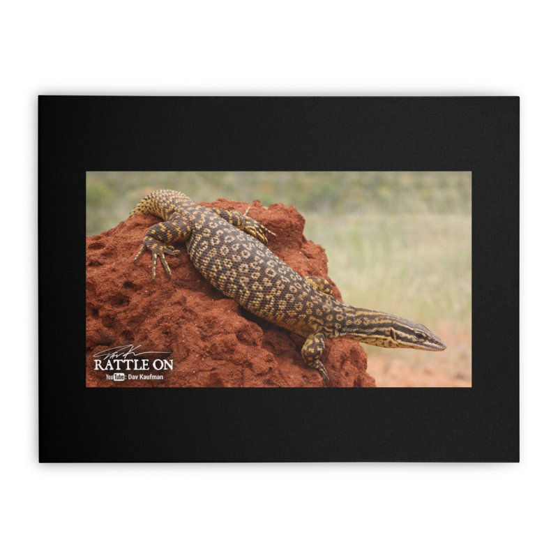 Red Ackie Home Stretched Canvas by Dav Kaufman's Swag Shop!