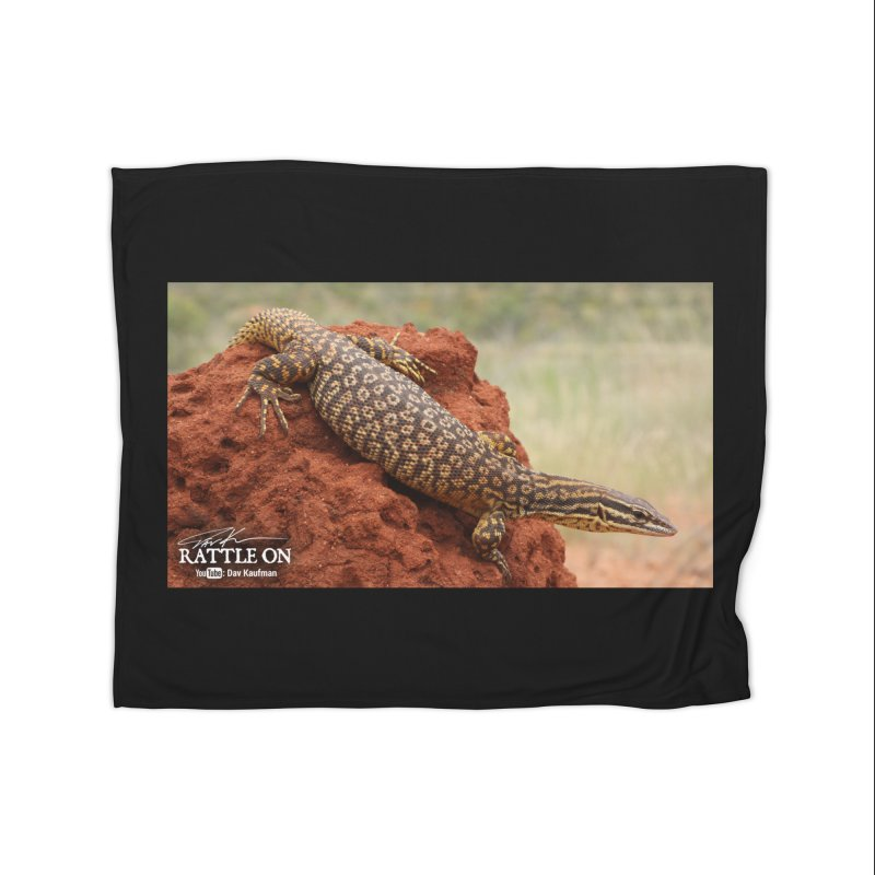 Red Ackie Home Fleece Blanket Blanket by Dav Kaufman's Swag Shop!