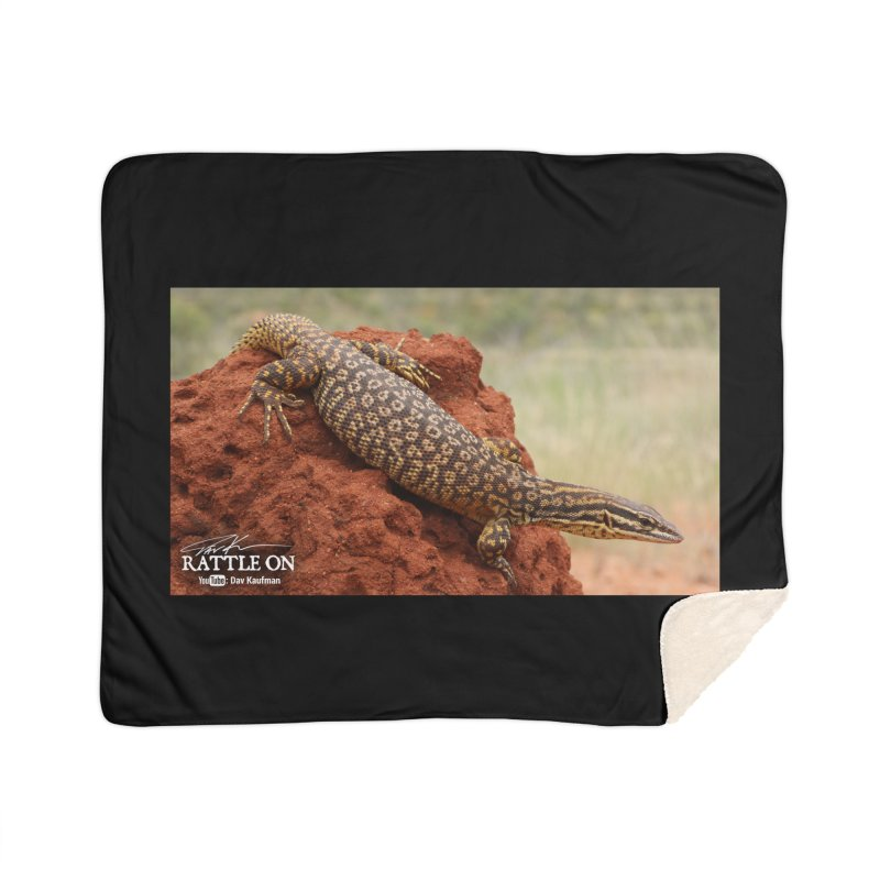 Red Ackie Home Sherpa Blanket Blanket by Dav Kaufman's Swag Shop!