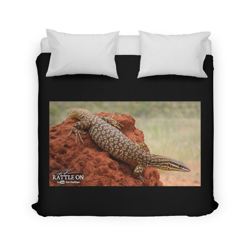 Red Ackie Home Duvet by Dav Kaufman's Swag Shop!
