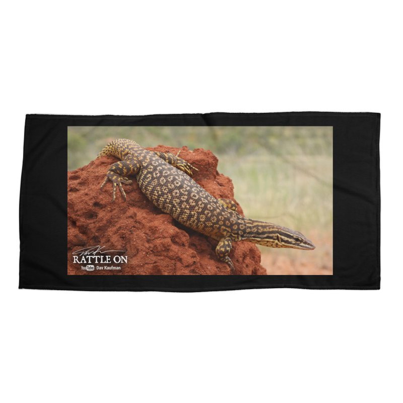 Red Ackie Accessories Beach Towel by Dav Kaufman's Swag Shop!