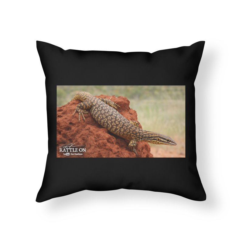 Red Ackie Home Throw Pillow by Dav Kaufman's Swag Shop!