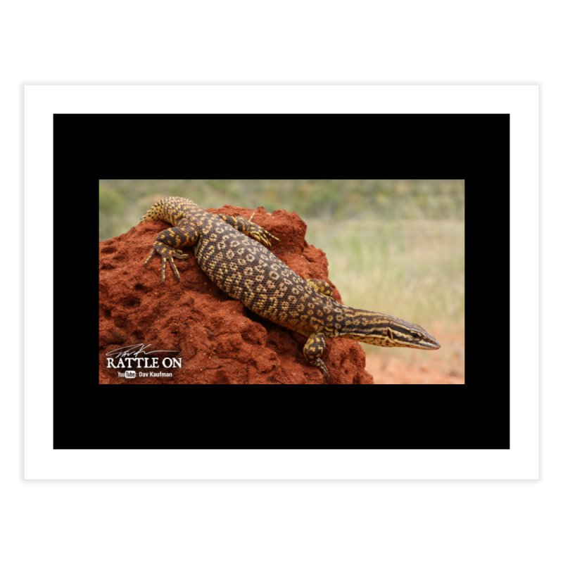 Red Ackie Home Fine Art Print by Dav Kaufman's Swag Shop!