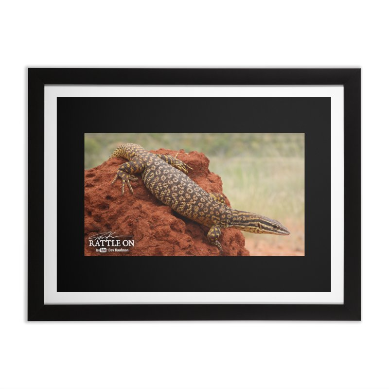 Red Ackie Home Framed Fine Art Print by Dav Kaufman's Swag Shop!