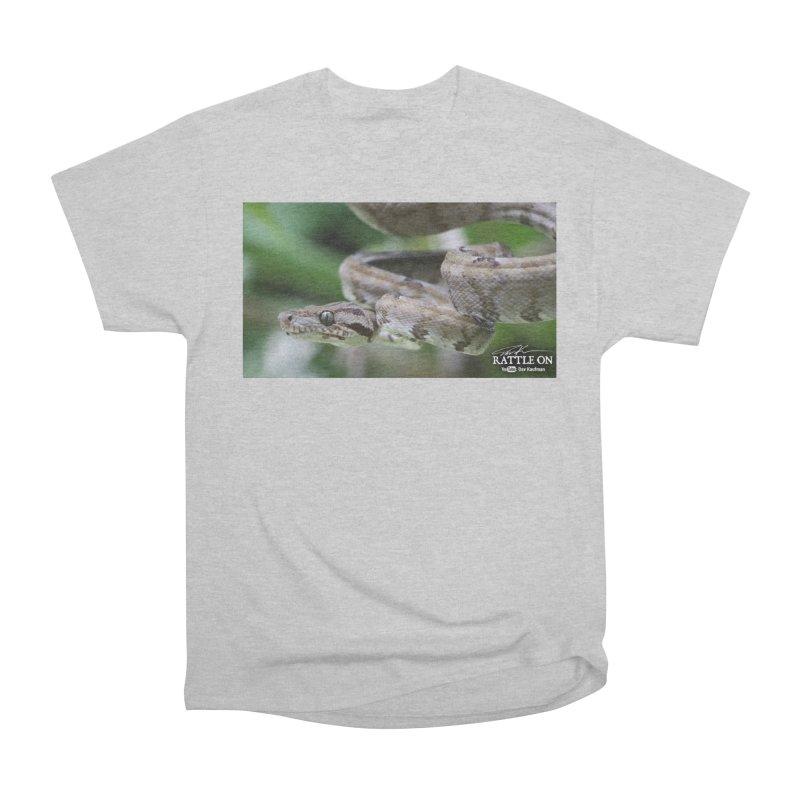 Amazon Tree Boa Men's T-Shirt by Dav Kaufman's Swag Shop!