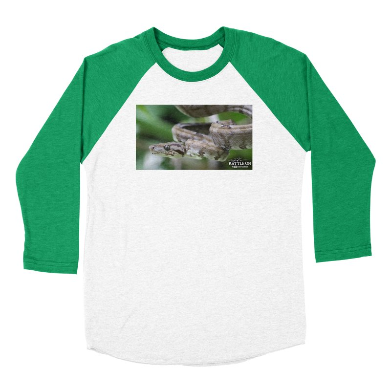Amazon Tree Boa Women's Longsleeve T-Shirt by Dav Kaufman's Swag Shop!