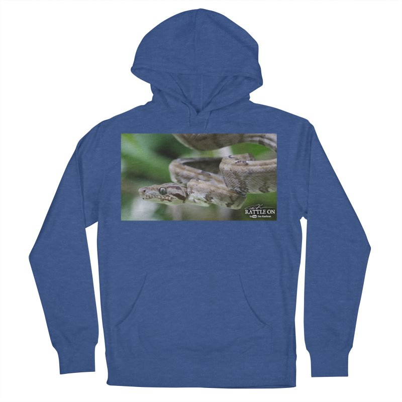 Amazon Tree Boa Women's French Terry Pullover Hoody by Dav Kaufman's Swag Shop!