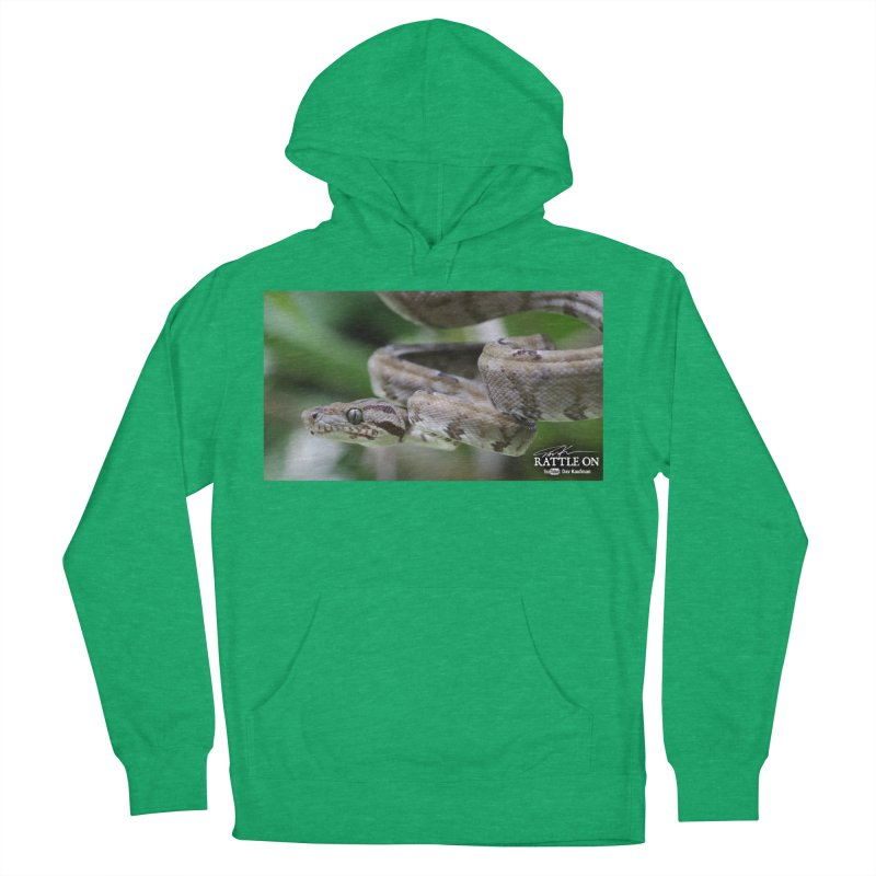 Amazon Tree Boa Men's Pullover Hoody by Dav Kaufman's Swag Shop!