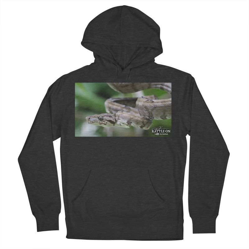 Amazon Tree Boa Men's French Terry Pullover Hoody by Dav Kaufman's Swag Shop!