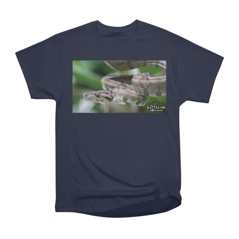 Amazon Tree Boa Men's T-Shirt by Dav Kaufman's Swag Shop!