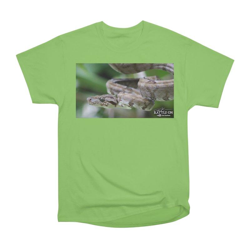 Amazon Tree Boa Men's Heavyweight T-Shirt by Dav Kaufman's Swag Shop!