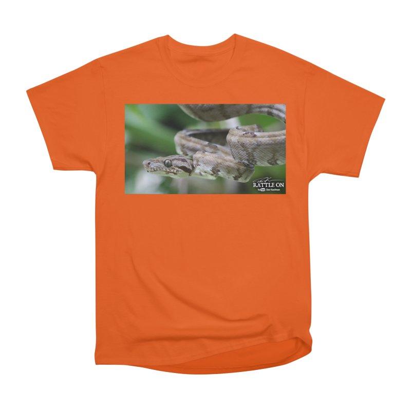 Amazon Tree Boa Women's Heavyweight Unisex T-Shirt by Dav Kaufman's Swag Shop!