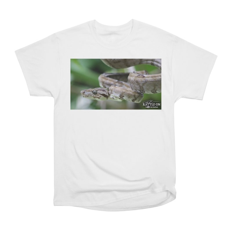 Amazon Tree Boa Women's Heavyweight Unisex T-Shirt by Dav Kaufman's Swag Shop!
