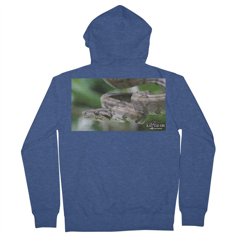 Amazon Tree Boa Women's Zip-Up Hoody by Dav Kaufman's Swag Shop!