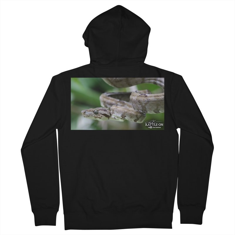 Amazon Tree Boa Men's Zip-Up Hoody by Dav Kaufman's Swag Shop!