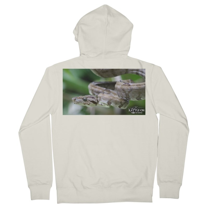 Amazon Tree Boa Men's French Terry Zip-Up Hoody by Dav Kaufman's Swag Shop!