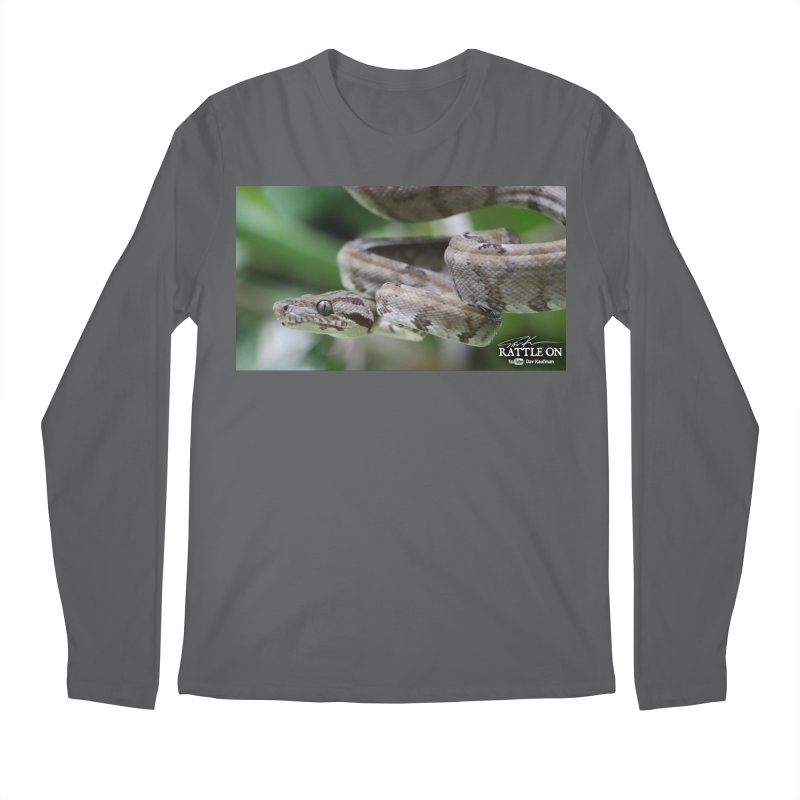 Amazon Tree Boa Men's Longsleeve T-Shirt by Dav Kaufman's Swag Shop!