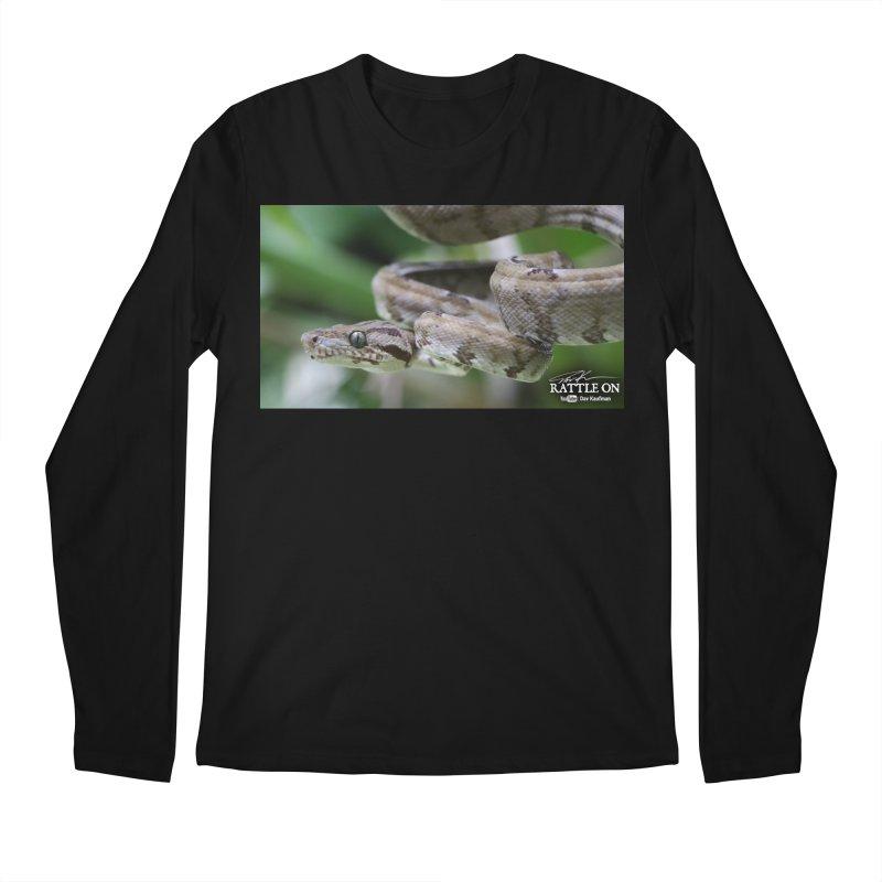 Amazon Tree Boa Men's Regular Longsleeve T-Shirt by Dav Kaufman's Swag Shop!