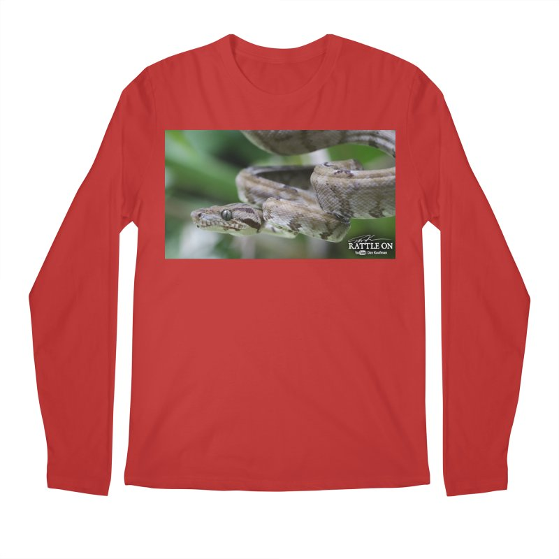 Amazon Tree Boa Men's Regular Longsleeve T-Shirt by Dav Kaufman's Swag Shop!