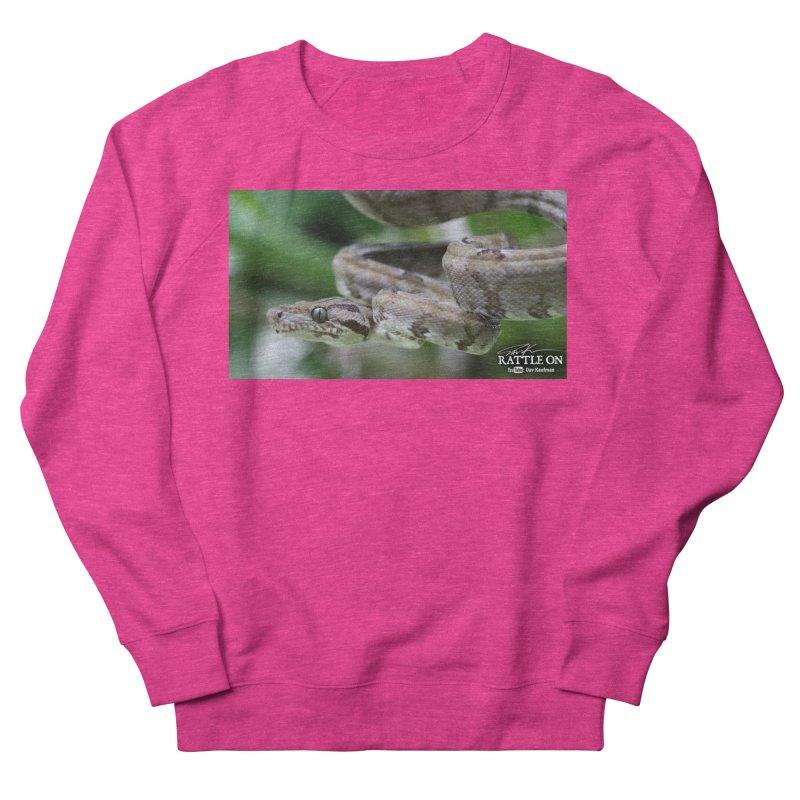 Amazon Tree Boa Women's French Terry Sweatshirt by Dav Kaufman's Swag Shop!