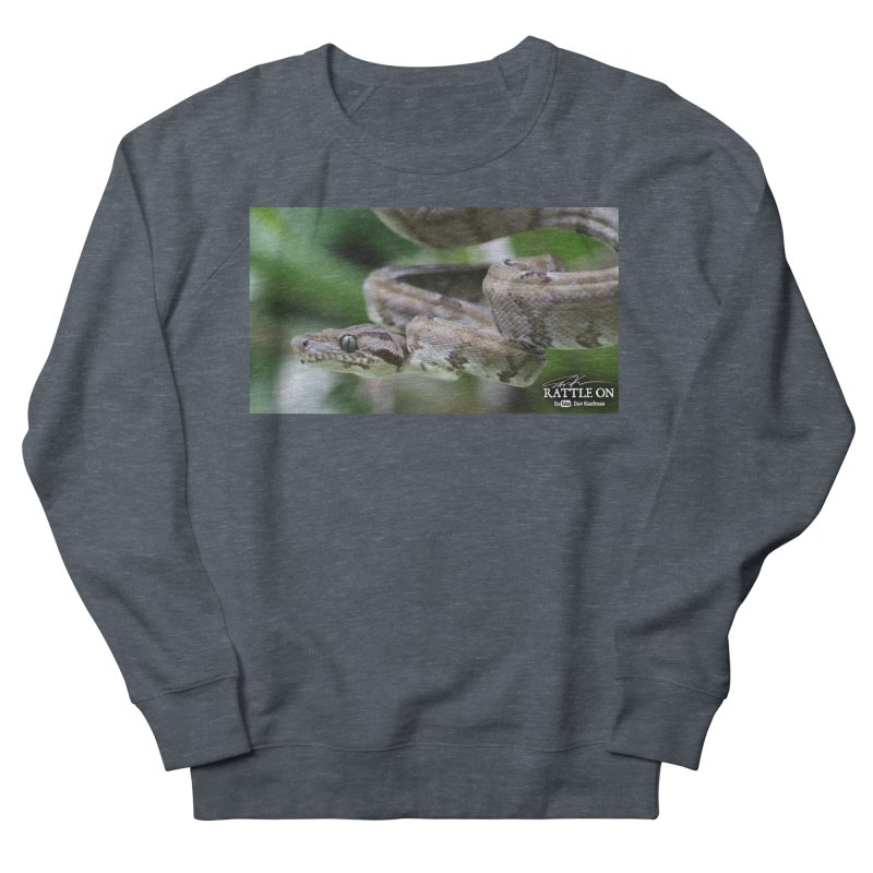 Amazon Tree Boa Men's Sweatshirt by Dav Kaufman's Swag Shop!