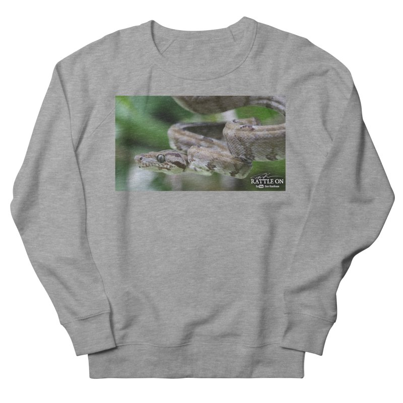 Amazon Tree Boa Men's French Terry Sweatshirt by Dav Kaufman's Swag Shop!
