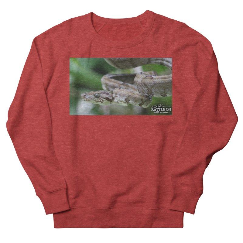 Amazon Tree Boa Men's Sweatshirt by Dav Kaufman's Swag Shop!