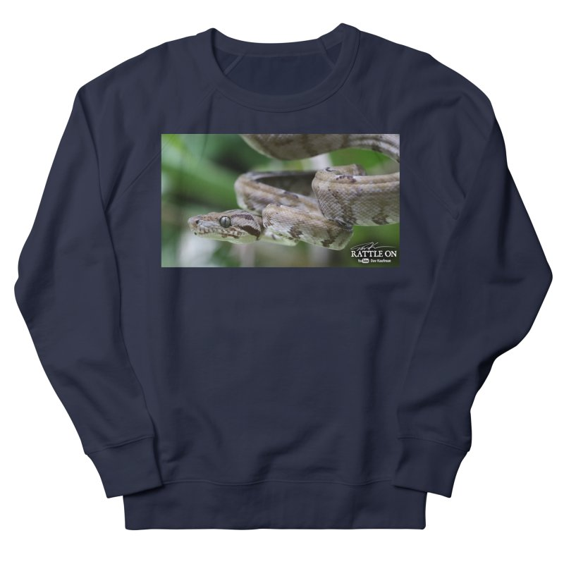 Amazon Tree Boa Men's French Terry Sweatshirt by Dav Kaufman's Swag Shop!