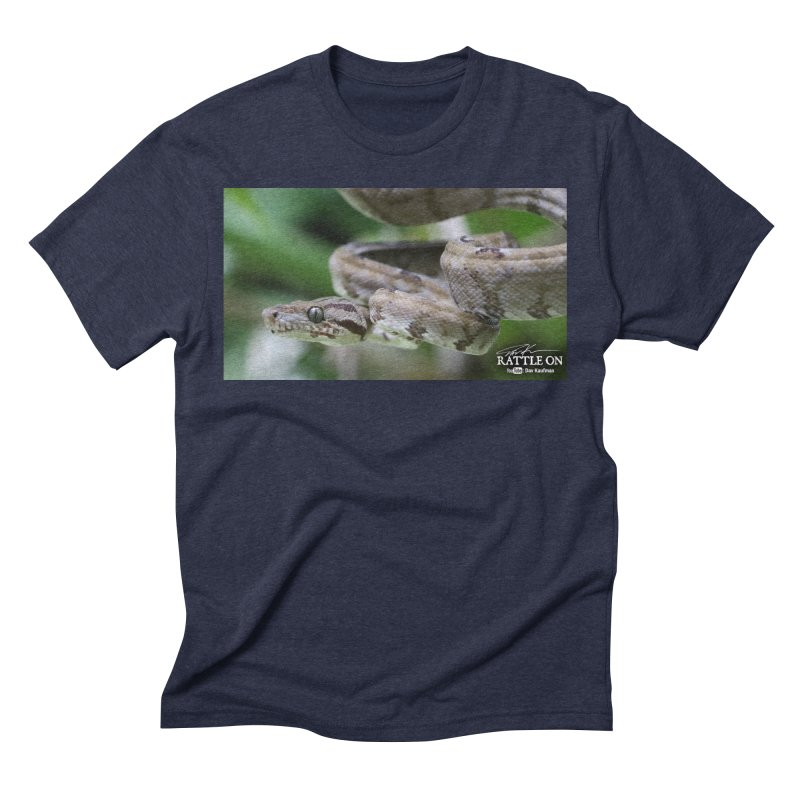 Amazon Tree Boa Men's Triblend T-Shirt by Dav Kaufman's Swag Shop!