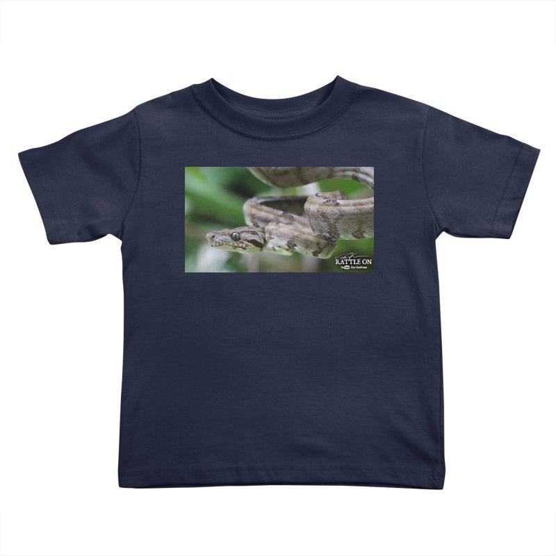 Amazon Tree Boa Kids Toddler T-Shirt by Dav Kaufman's Swag Shop!