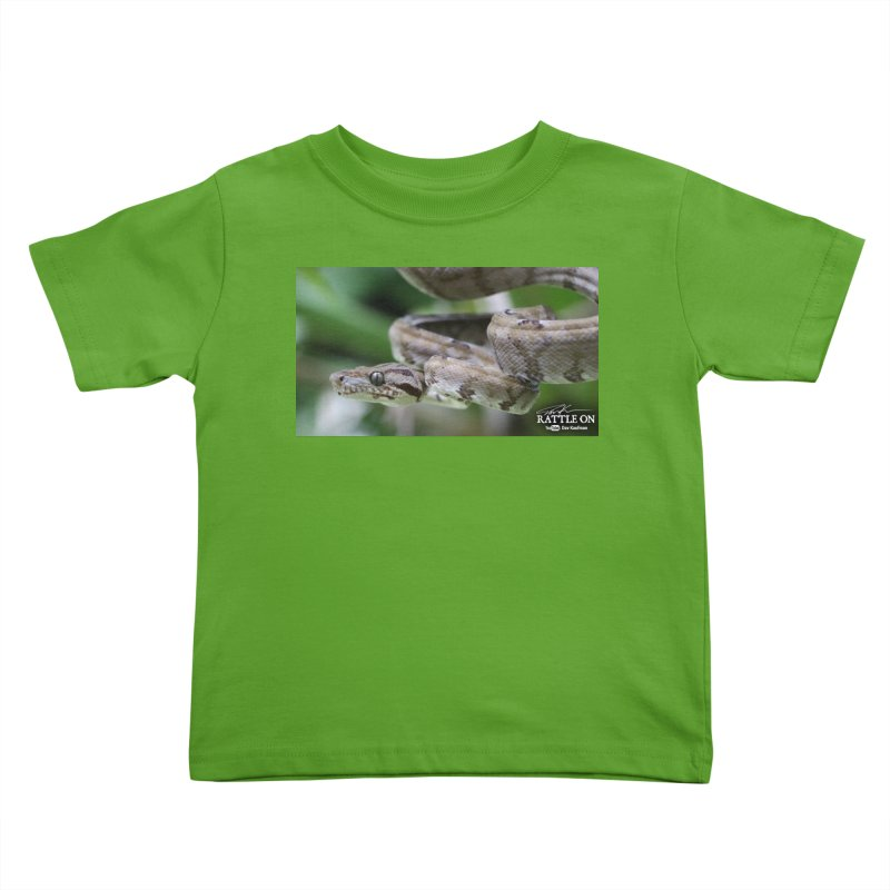 Amazon Tree Boa Kids Toddler T-Shirt by Dav Kaufman's Swag Shop!