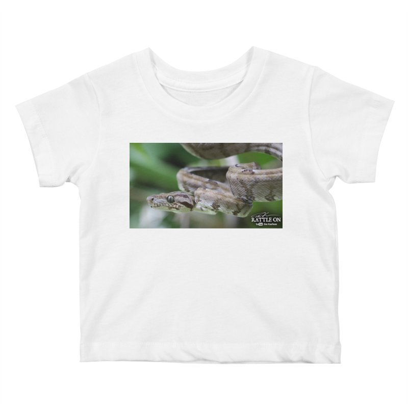 Amazon Tree Boa Kids Baby T-Shirt by Dav Kaufman's Swag Shop!