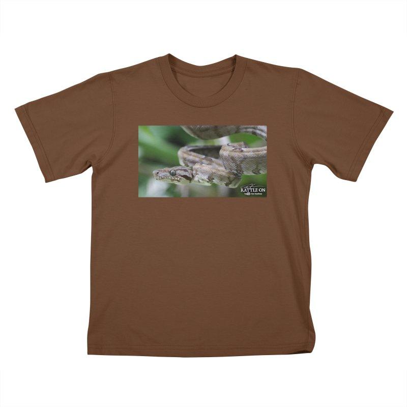 Amazon Tree Boa Kids T-Shirt by Dav Kaufman's Swag Shop!