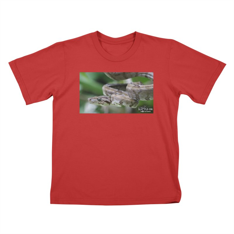 Amazon Tree Boa Kids T-Shirt by Dav Kaufman's Swag Shop!