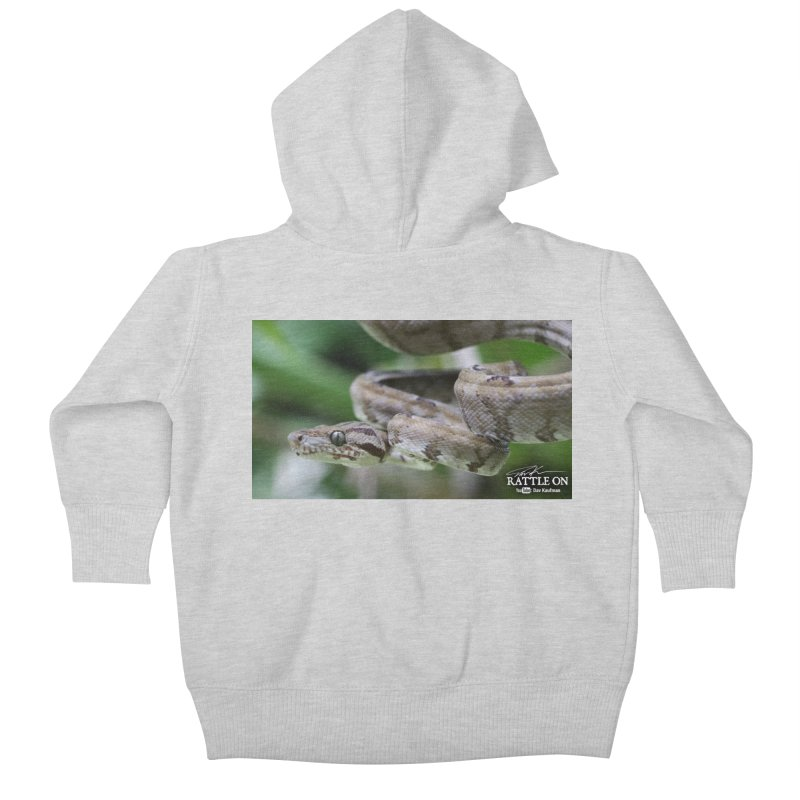 Amazon Tree Boa Kids Baby Zip-Up Hoody by Dav Kaufman's Swag Shop!