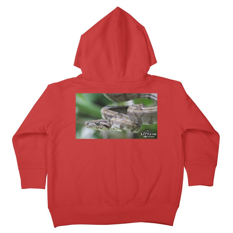 Amazon Tree Boa Kids Toddler Zip-Up Hoody by Dav Kaufman's Swag Shop!