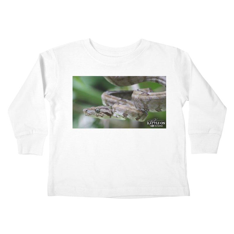 Amazon Tree Boa Kids Toddler Longsleeve T-Shirt by Dav Kaufman's Swag Shop!