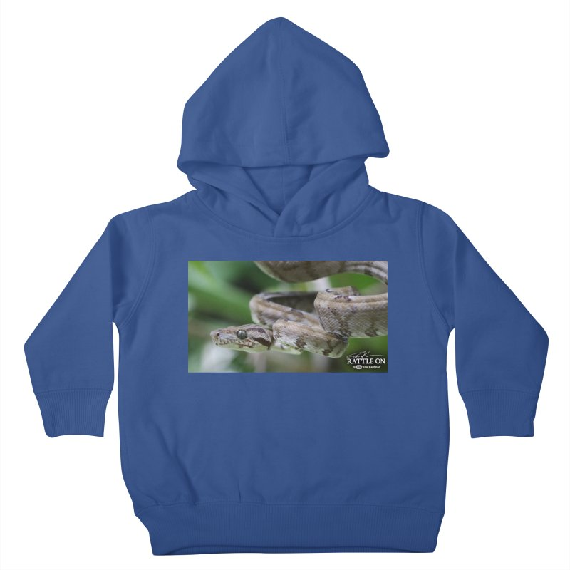 Amazon Tree Boa Kids Toddler Pullover Hoody by Dav Kaufman's Swag Shop!