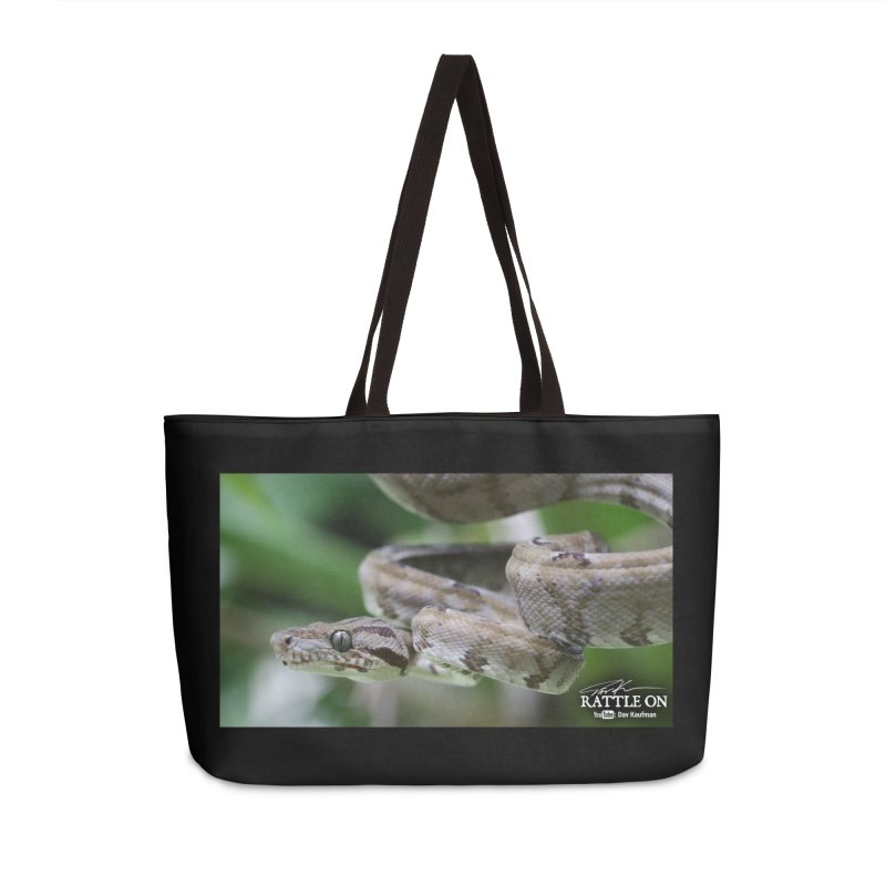 Amazon Tree Boa Accessories Weekender Bag Bag by Dav Kaufman's Swag Shop!