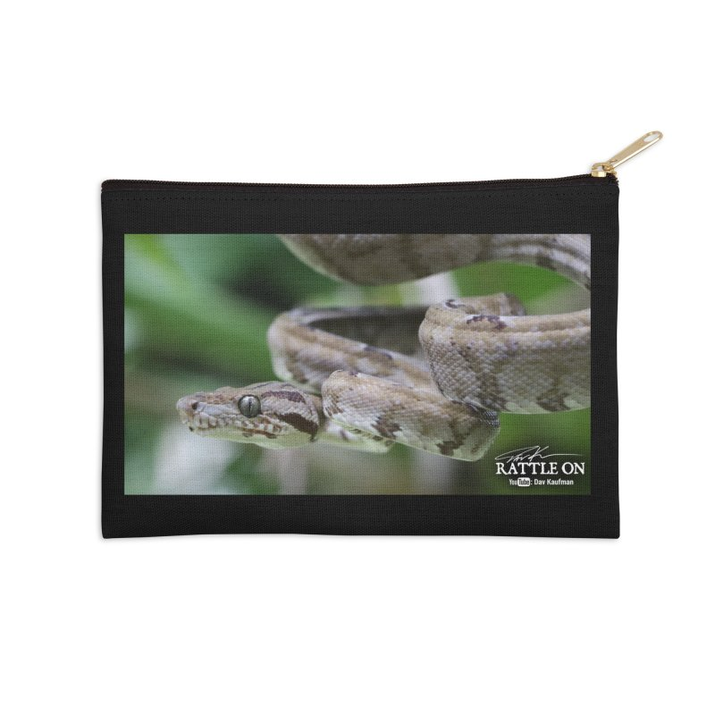 Amazon Tree Boa Accessories Zip Pouch by Dav Kaufman's Swag Shop!