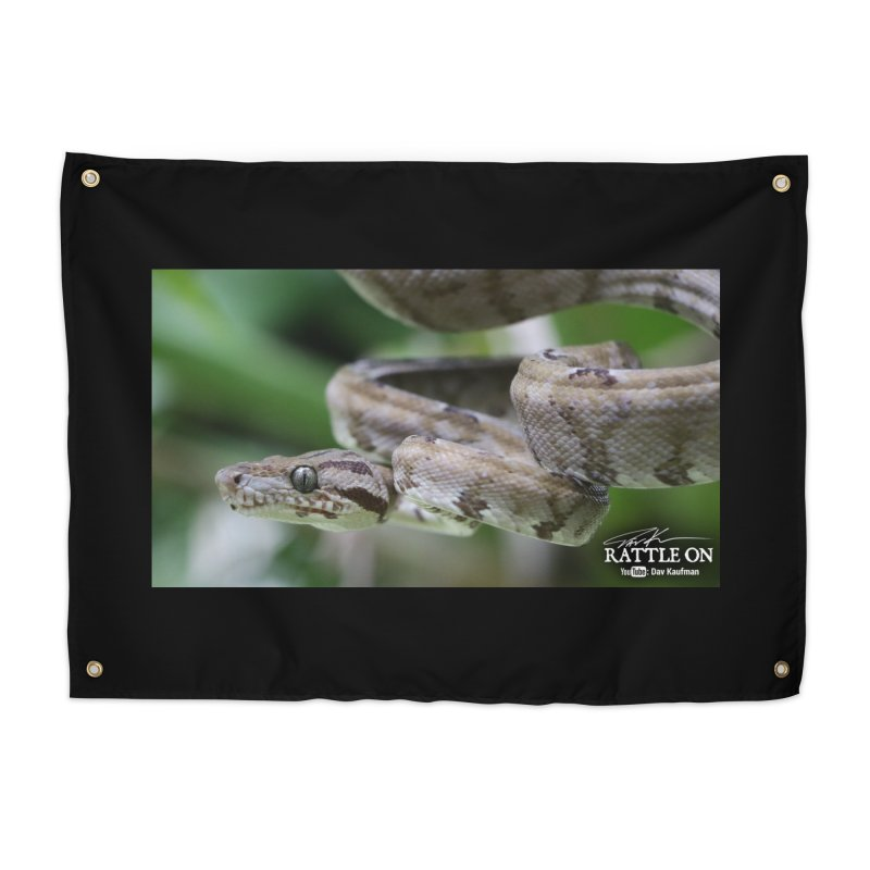 Amazon Tree Boa Home Tapestry by Dav Kaufman's Swag Shop!