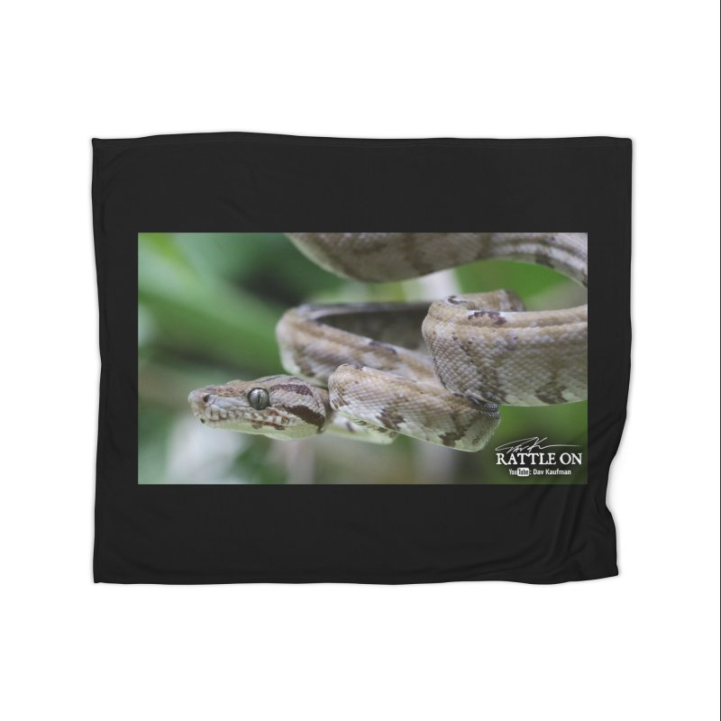 Amazon Tree Boa Home Fleece Blanket Blanket by Dav Kaufman's Swag Shop!