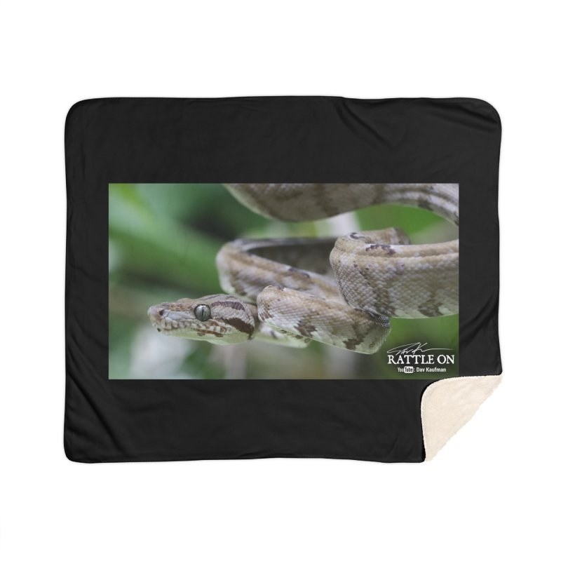Amazon Tree Boa Home Sherpa Blanket Blanket by Dav Kaufman's Swag Shop!