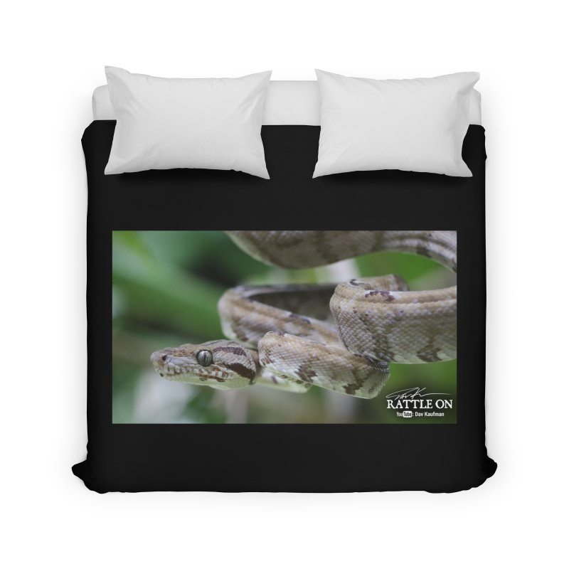 Amazon Tree Boa Home Duvet by Dav Kaufman's Swag Shop!