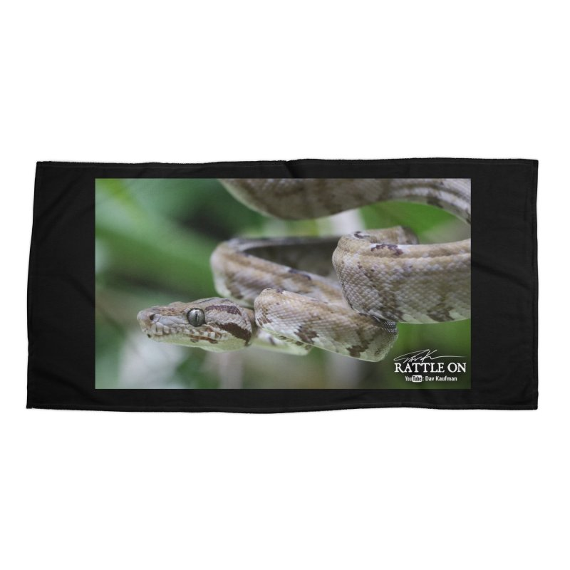 Amazon Tree Boa Accessories Beach Towel by Dav Kaufman's Swag Shop!