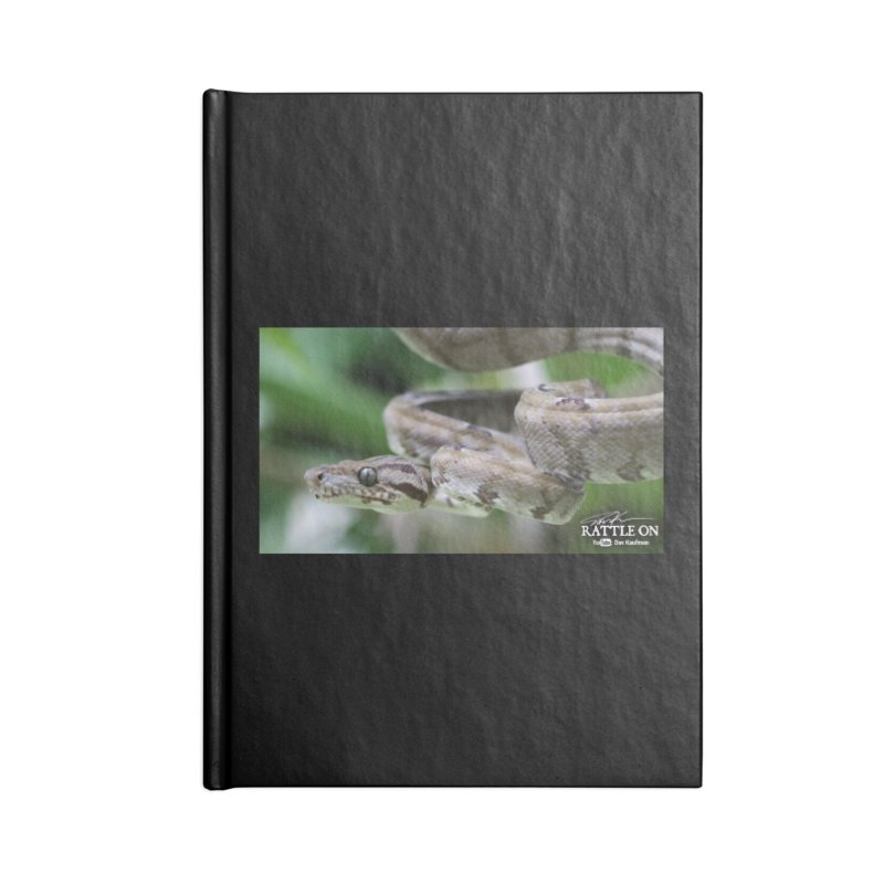 Amazon Tree Boa Accessories Lined Journal Notebook by Dav Kaufman's Swag Shop!