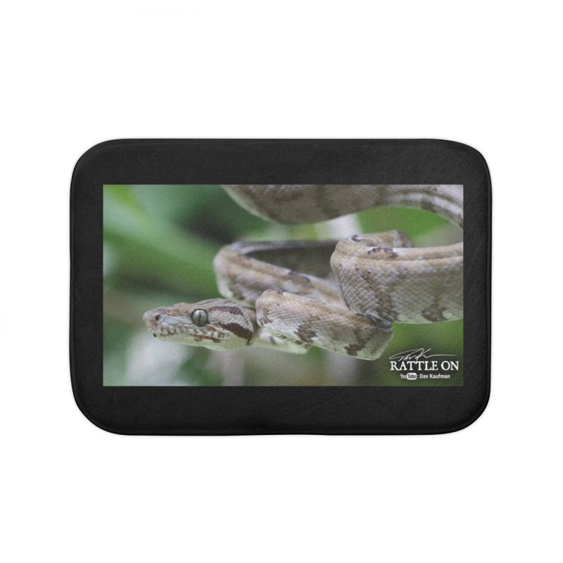 Amazon Tree Boa Home Bath Mat by Dav Kaufman's Swag Shop!