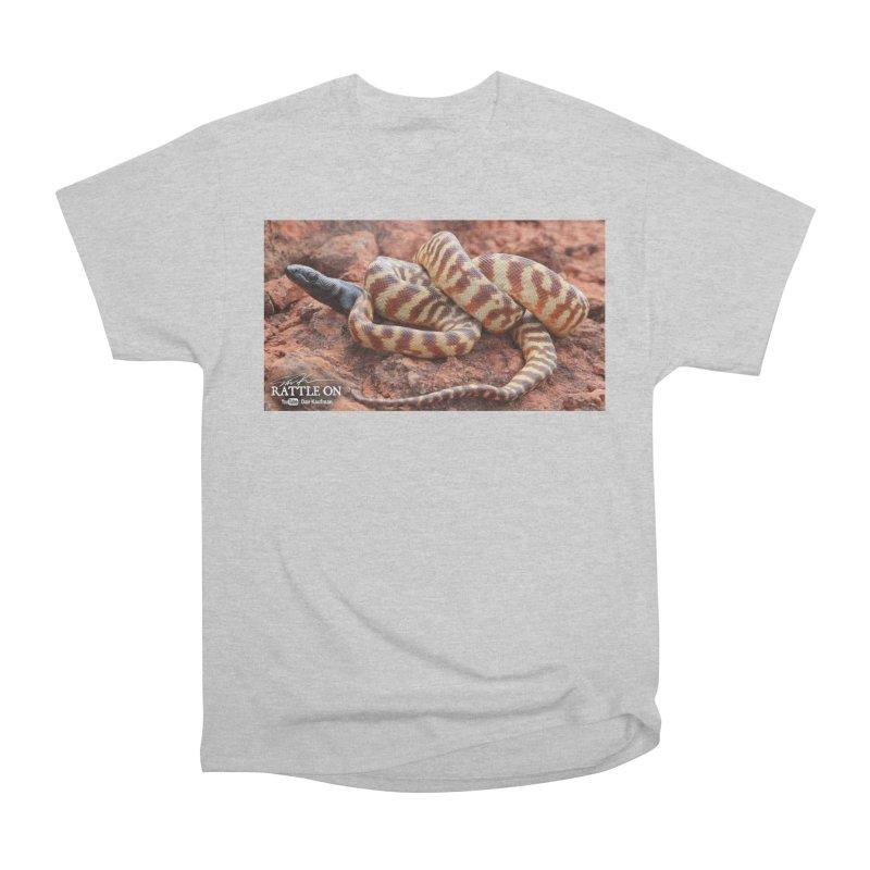 Black Headed Python Men's T-Shirt by Dav Kaufman's Swag Shop!