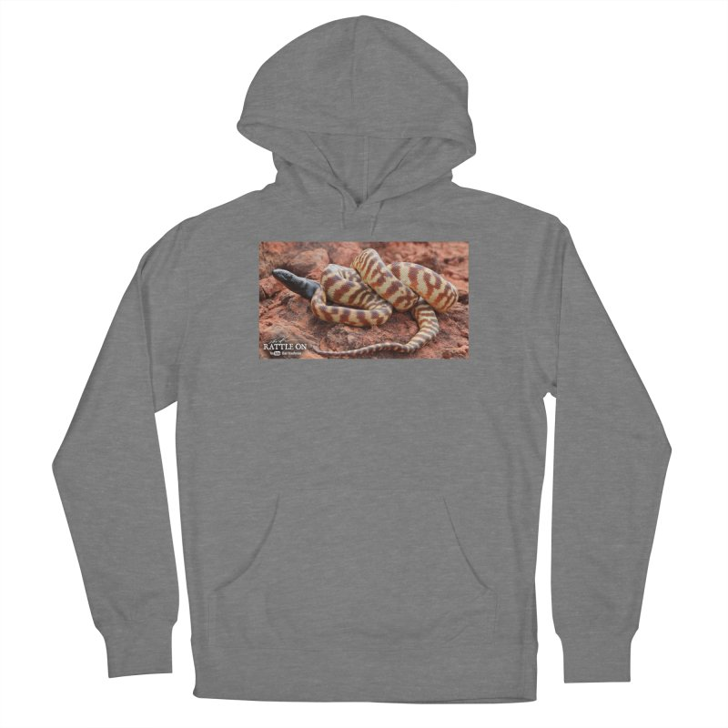 Black Headed Python Women's Pullover Hoody by Dav Kaufman's Swag Shop!
