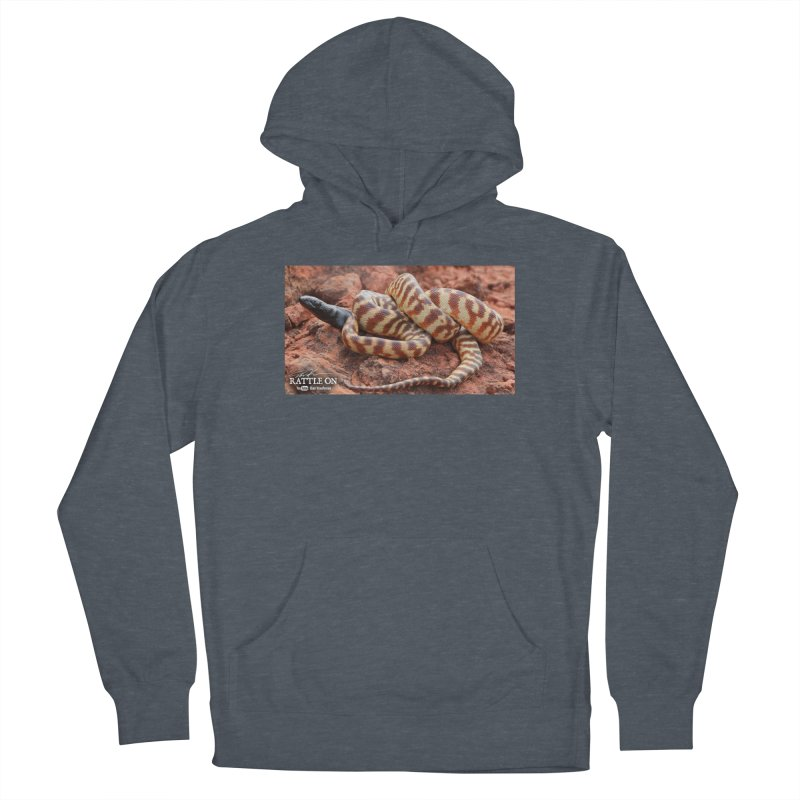Black Headed Python Women's French Terry Pullover Hoody by Dav Kaufman's Swag Shop!